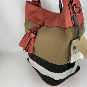 Burberry Bags - New Burberry Brit Grainy Ashby Check Tote Bag d92a51c09a6a8